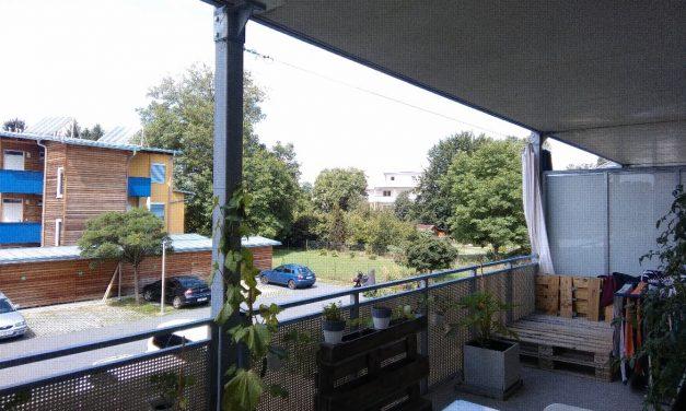 Flexibel, neuwertig, großer Balkon
